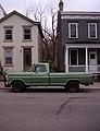 Houses & truck, Northside.jpg