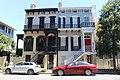 Houses across from Pulaski Square, Savannah.jpg