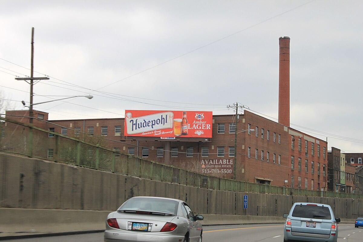Hudepohl billboard Interstate 75 Cincinnati.JPG