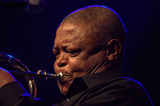 Hugh Masekela - Masekela performing in 2009