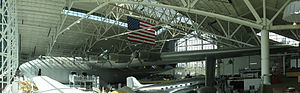 "Hughes H-4 Hercules flying boat, the ""Spruce Goose"" at the Evergreen Aviation & Space Museum.jpg"