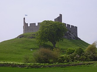 Hume Castle - Image: Hume Castle geograph.org.uk 812984