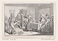 "Humphry Clinker Smashing a Dish at Dinner..., an illustration from Tobias Smollett's ""The Expedition of Humphry Clinker"" (London, 1793), Vol. 1 MET DP872117.jpg"
