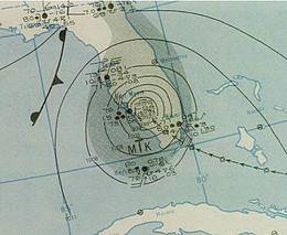 Hurricane Nine analysis 16 Sep 1945.jpg