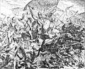 Hussitenfuehrer Johann Ziska Schlacht auf dem Witkowberg 1420 Darst 19 Jahrh.jpg