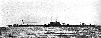 Submarines of the Imperial Japanese Navy - I-58 Type B3 submarine.