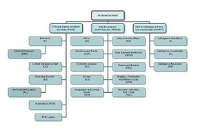 Bureau of Intelligence and Research - Structure of the Bureau of Intelligence and Research as of 2008.