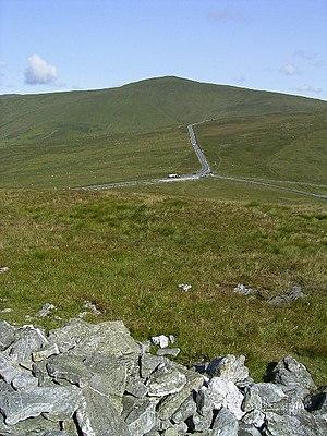 Beinn-y-Phott - seen from the top of Cairn Gerjoil looking across Windy Corner