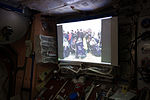 ISS-47 NASA TV in the Unity module.jpg
