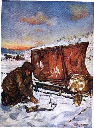 Nico Jungmann - Image: Ice fishing 1904 Norway