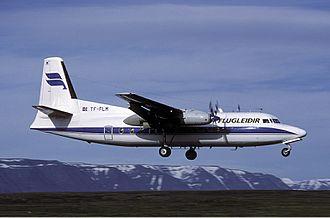 Fokker F27 Friendship - An F27-200 in Iceland (1989)