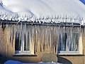 Icicle's taken from my Brothers house - panoramio.jpg