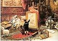 Idealismo y Realidad 1884 de Juan Comba García.jpg