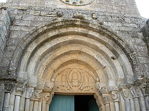 Monastery of Rates - Another view of the main portal