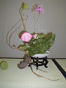 Ikebana Wikipedia La Enciclopedia Libre