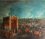 Ilario Spolverini - Meeting of Duke Francesco Farnese with Cardinal Gozzadini, Pontifical Legate at the wedding.JPG