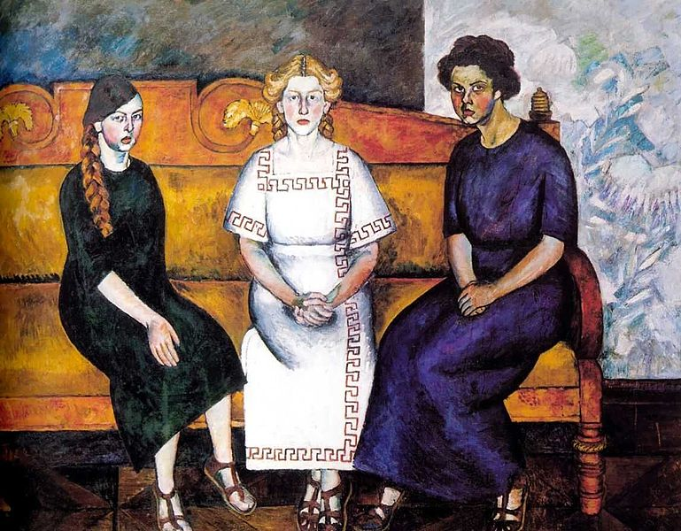 File:Ilya Mashkov - Three sisters (1911).jpg