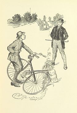 Image illustrative de l'article La Burlesque Équipée du cycliste