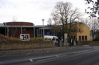 Immanuel College, Bradford - The school seen from Leeds Road