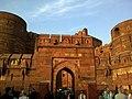 Inde Uttar Pradesh Agra Fort Rouge - panoramio.jpg