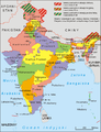 India administrative map 2014 PL.png