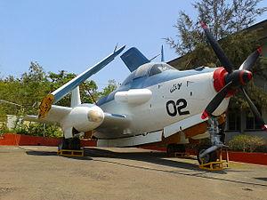 Breguet Alizé - Breguet Br.1050 Alizé displayed at the Naval Aviation Museum, India