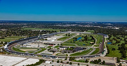 The Indianapolis Motor Speedway has the largest seating capacity of any venue in the world. Indianapolis-motor-speedway-1848561.jpg