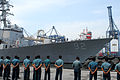 Indonesian sailors stand by as the guided missile destroyer USS Momsen (DDG 92) participates in Cooperation Afloat Readiness and Training (CARAT) 2013 in Jakarta, Indonesia, May 26, 2013 130526-N-SO584-046.jpg