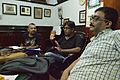 Indrajit Das Speaks - Wikimedia Meetup - St Johns Church - Kolkata 2016-09-10 9422.JPG
