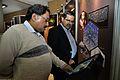 Indranil Sanyal and Subhabrata Chaudhuri - Crystallography Exhibition - Science City - Kolkata 2014-12-30 1441.JPG