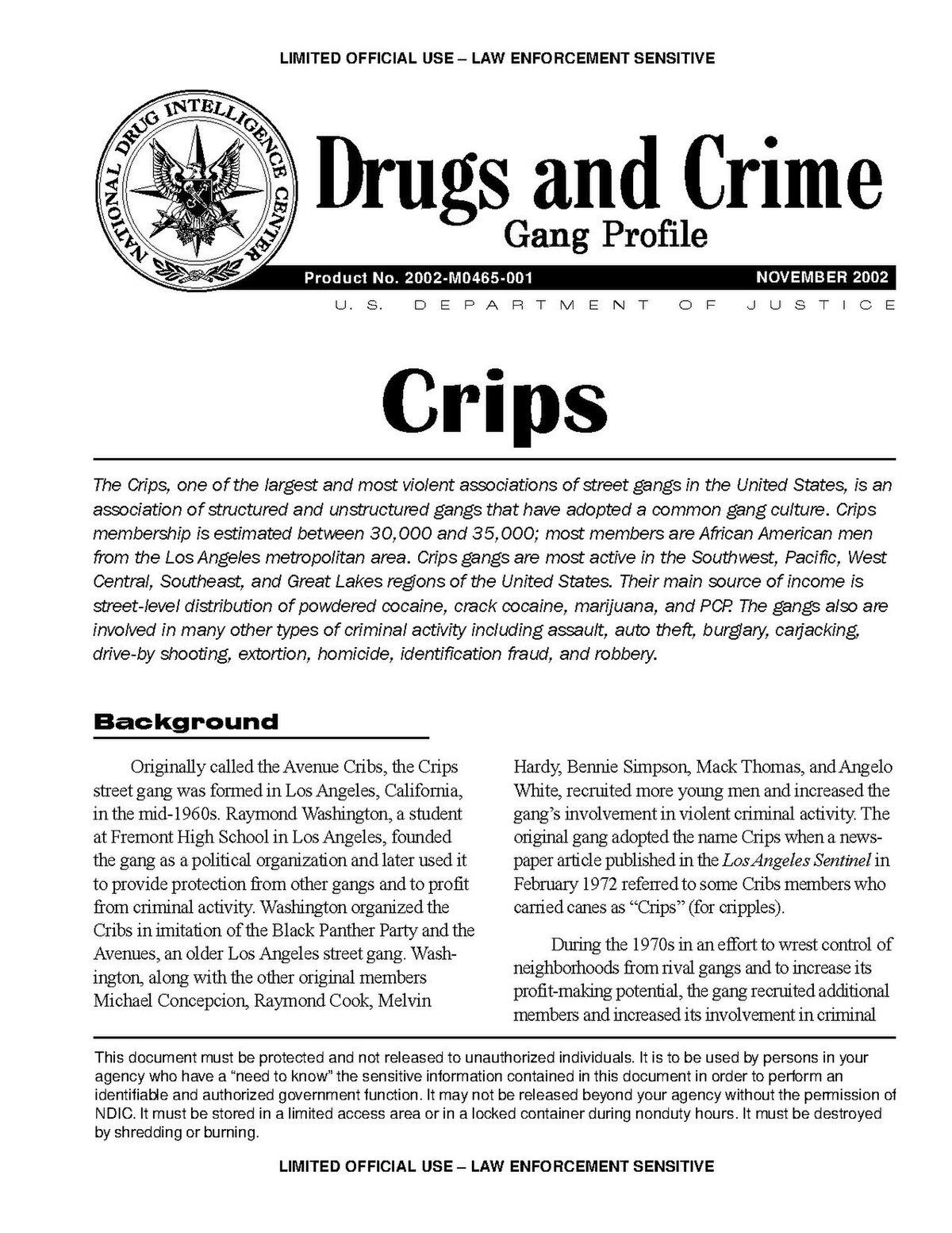 Bloods und Crips – Wikipedia