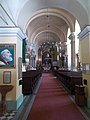 Inner City Franciscan Church interior, 2016 Esztergom.jpg