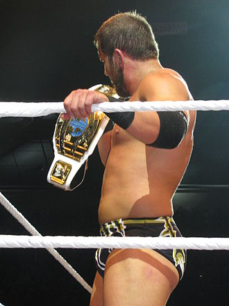Curtis Axel - Axel as Intercontinental Champion in July 2013