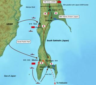 Soviet Invasion of South Sakhalin