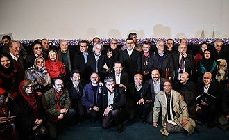 A group of Iranian dubbing artists Iranian Dubbing artists.jpg