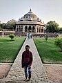 Isa Khan Niyazi's tomb-humayun tomb complex.jpg