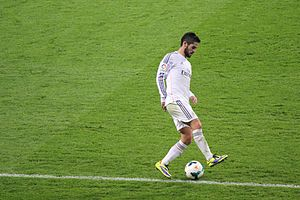 Isco - Isco with Real Madrid in 2013.