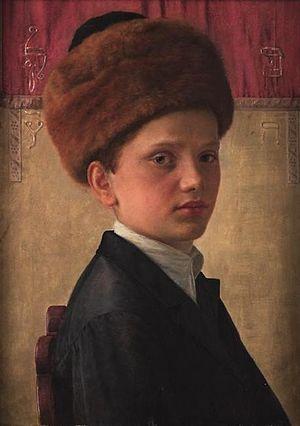 Isidor Kaufmann - Kaufmann's Portrait of a Yeshiva Boy