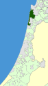 Israel Map - Hof HaCarmel Regional Council Zoomin.svg