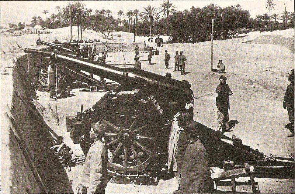 Italian battery near Tripoli