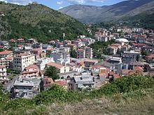Città bassa, panorama dal Castello