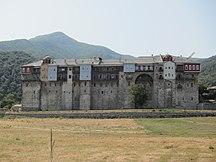 Athos-Bysanseran-Iviron monastery 2