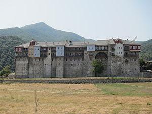 Iviron - Image: Iviron monastery 2