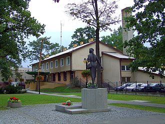 Józefów - Town center