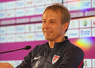 Jürgen Klinsmann German footballer and manager