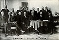 J. Babinski and others at the Warsaw congress. Photograph. Wellcome V0028212.jpg