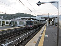 JRW 221 and 225 at Sonobe Station 2010-10-02 (5046259273).jpg