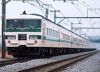 Tanigawa (train) - Image: JR East 185 shintokyu tanigawa akagi
