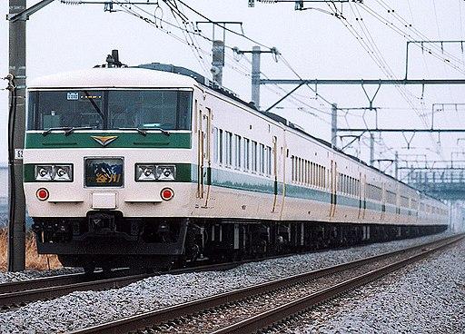 JR East 185 shintokyu tanigawa akagi