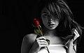 Jackie Martinez with a rose.jpg